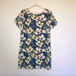 NWT J. Crew Printed short-sleeve gallery dress